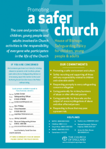 St Stephens Church Safeguarding Poster 2020 Thumbnail